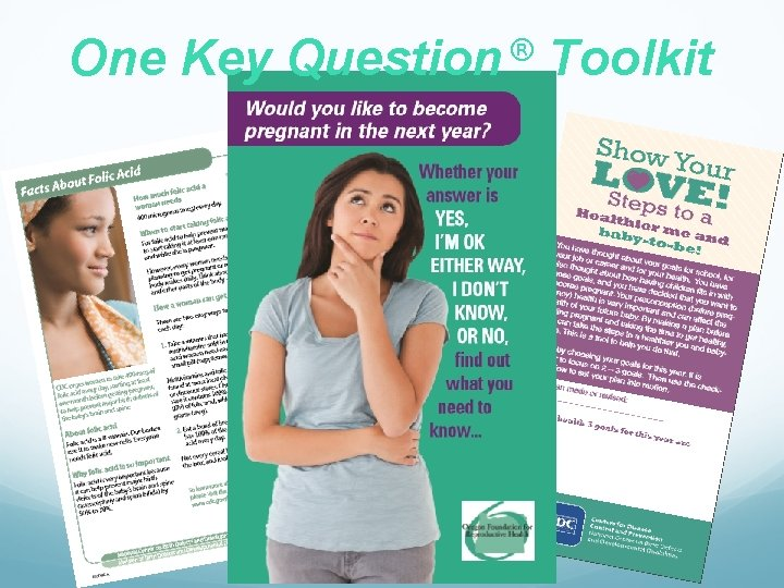 One Key ® Question Toolkit