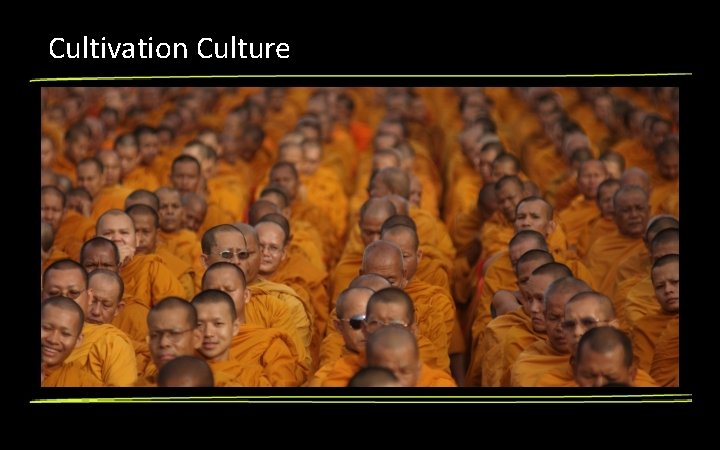 Cultivation Culture