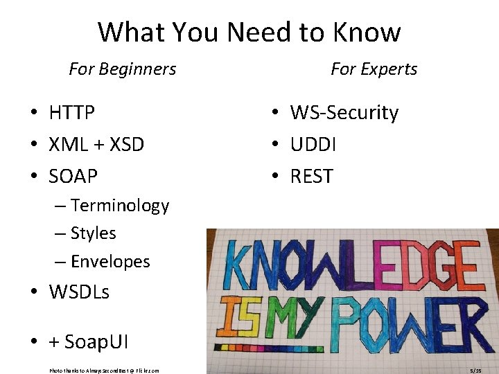 What You Need to Know For Beginners • HTTP • XML + XSD •