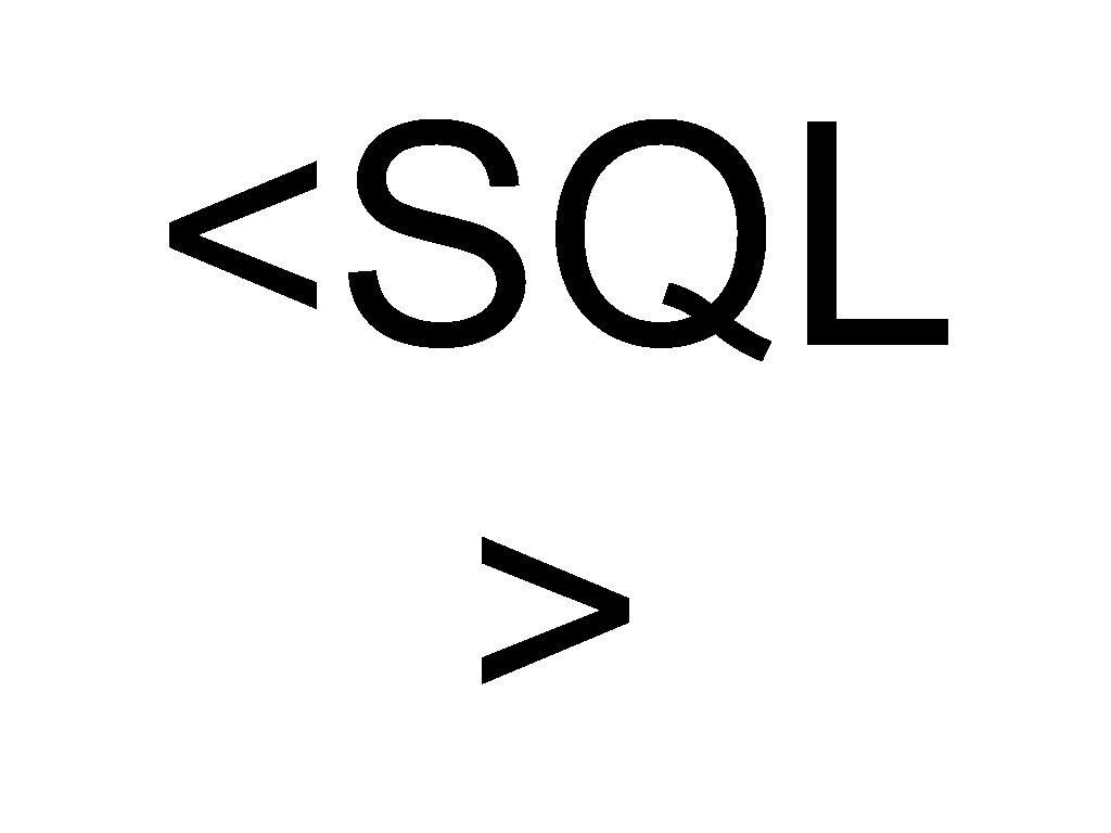 <SQL >