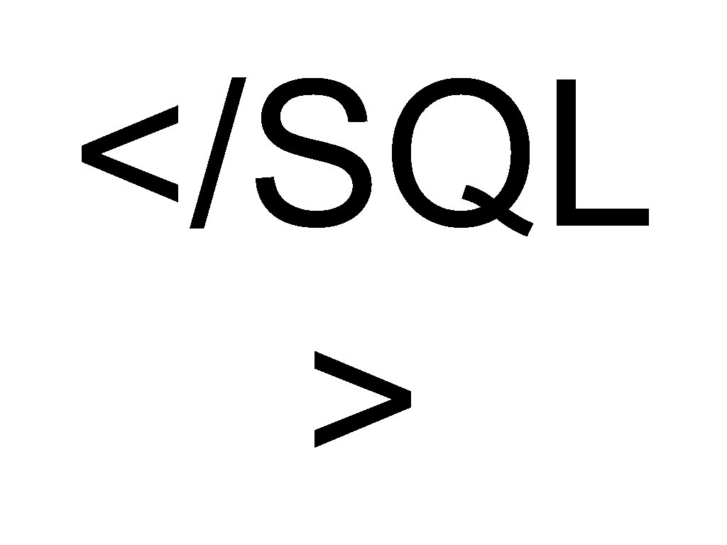 </SQL >