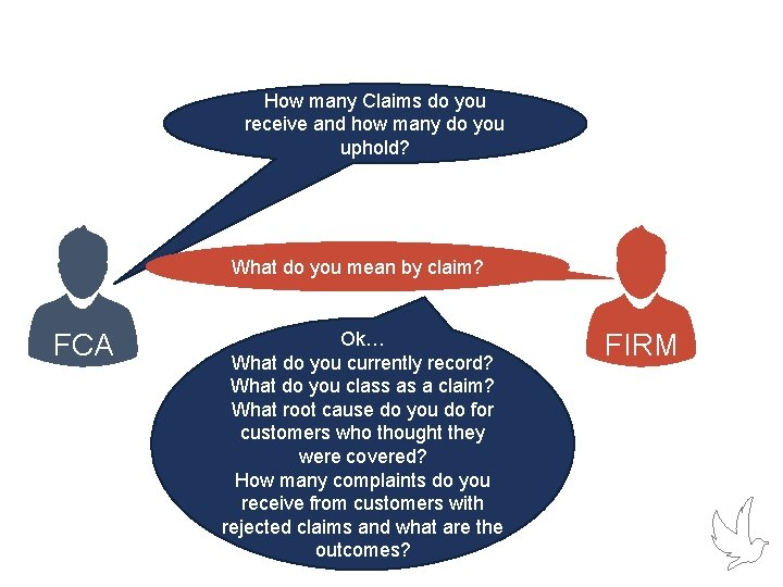 How many Claims do you receive and how many do you uphold? What do