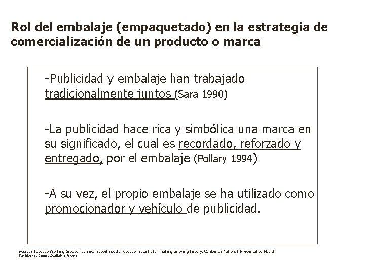 Rol del embalaje (empaquetado) en la estrategia de comercialización de un producto o marca