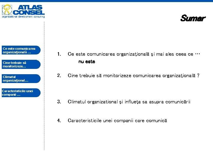 Sumar Ce este comunicarea organizaţională … …. 1. Ce este comunicarea organizaţională şi mai