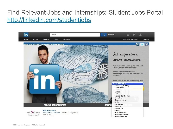 Find Relevant Jobs and Internships: Student Jobs Portal Ad this li nk on http: