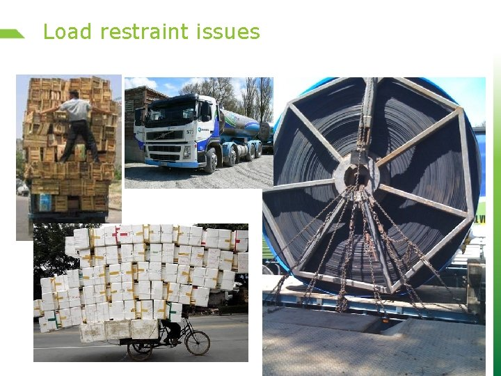 Load restraint issues 12 of 20