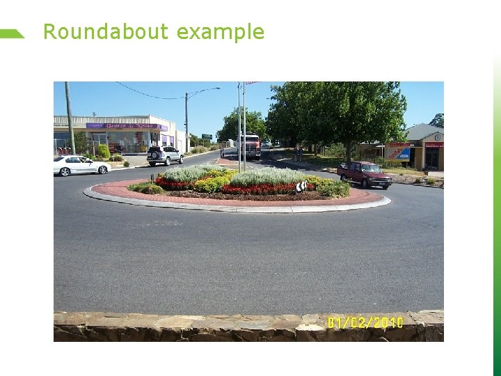 Roundabout example