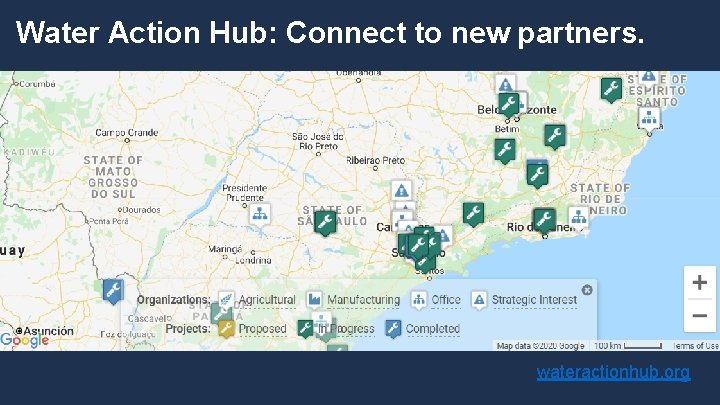 Water Action Hub: Connect to new partners. wateractionhub. org