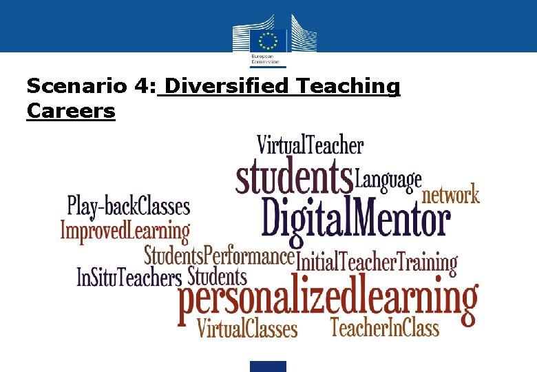 Scenario 4: Diversified Teaching Careers