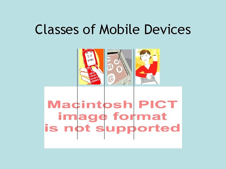 Classes of Mobile Devices