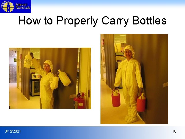 How to Properly Carry Bottles 3/12/2021 10