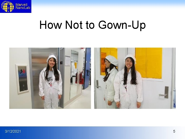 How Not to Gown-Up 3/12/2021 5
