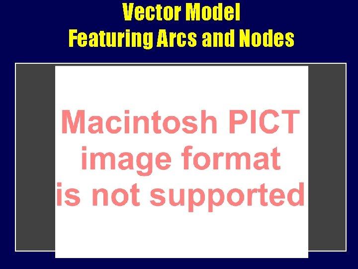 Vector Model Featuring Arcs and Nodes