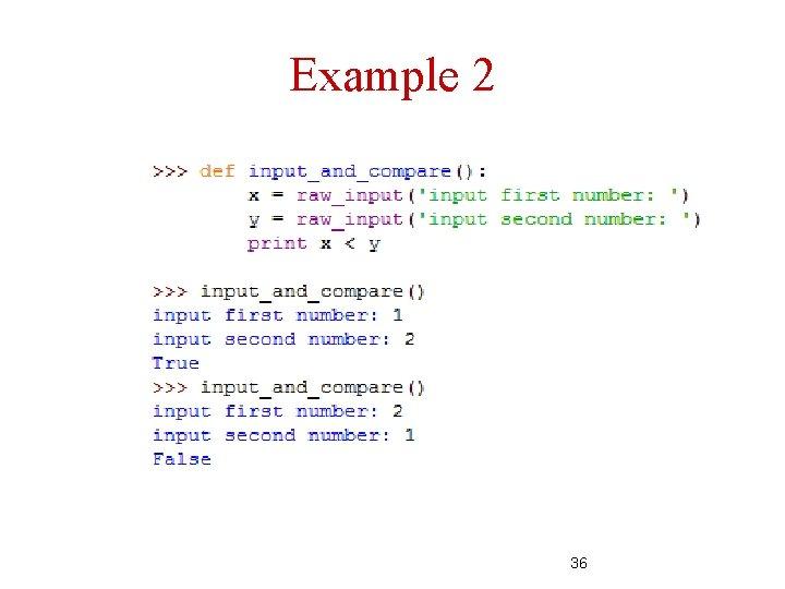 Example 2 36