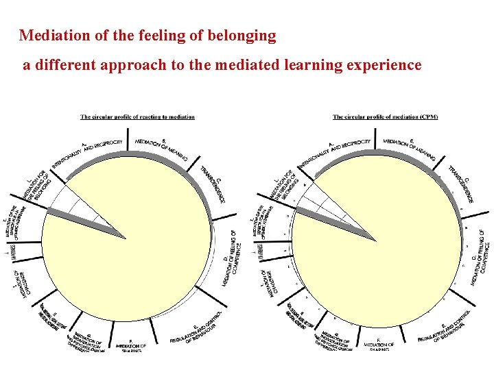 Mediation of the feeling of belonging a different approach to the mediated learning experience