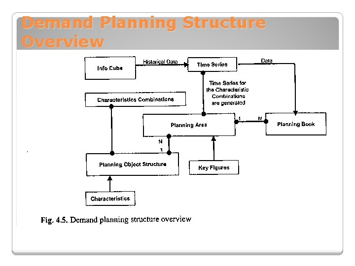 Demand Planning Structure Overview