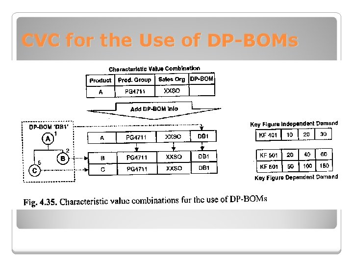 CVC for the Use of DP-BOMs