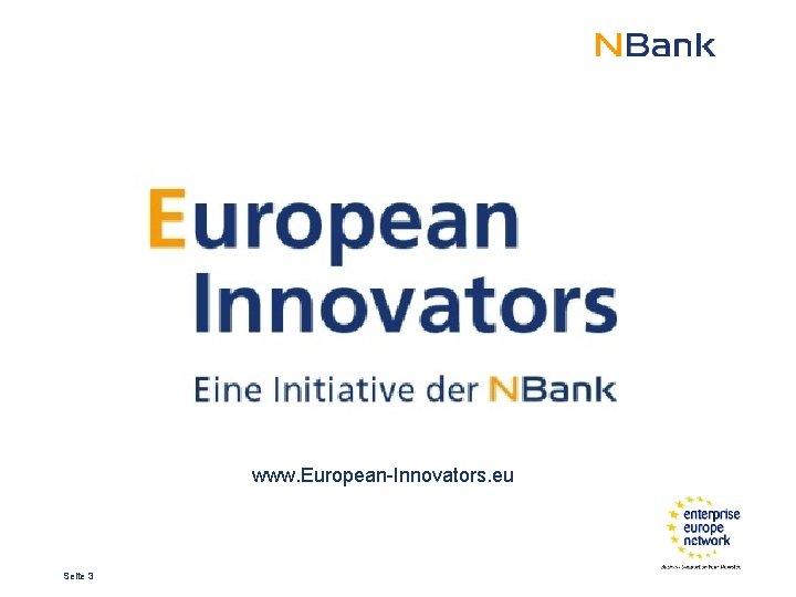 www. European-Innovators. eu Seite 3