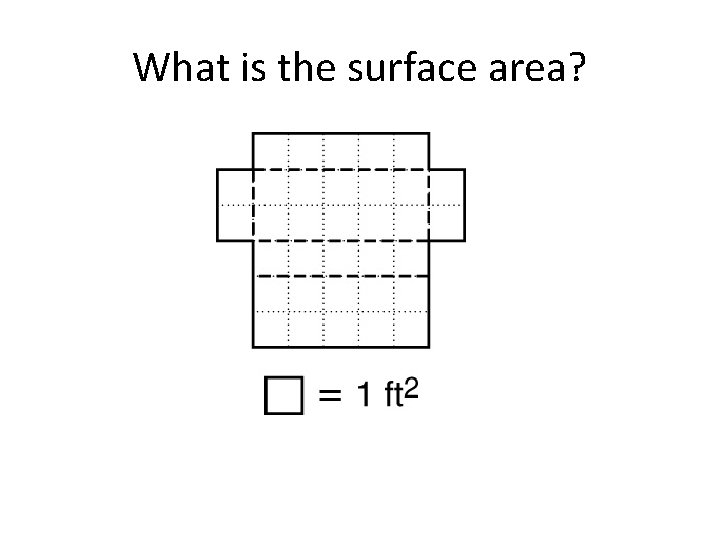 What is the surface area?