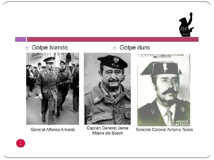 Video: dimisión de Adolfo Suárez Video: asalto al Congreso en el golpe militar del