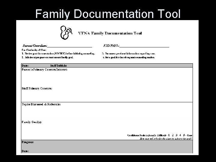 Family Documentation Tool
