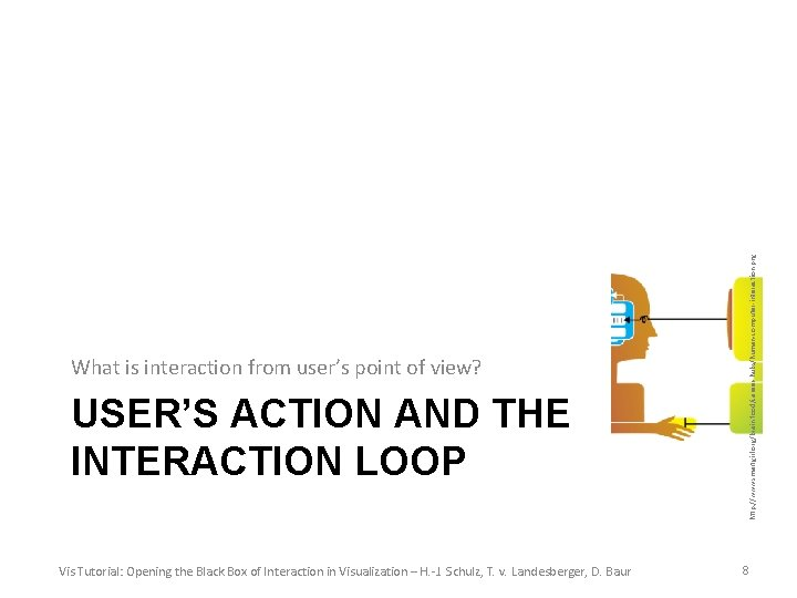 USER'S ACTION AND THE INTERACTION LOOP Vis Tutorial: Opening the Black Box of Interaction