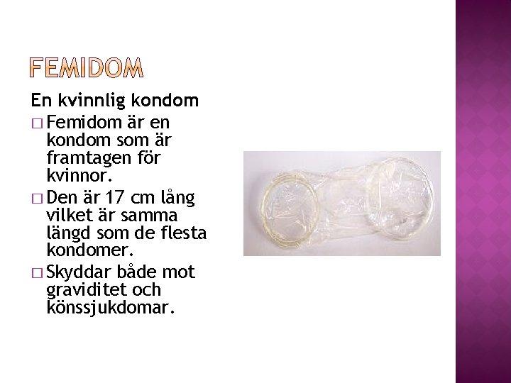 Kondom För Tjejer