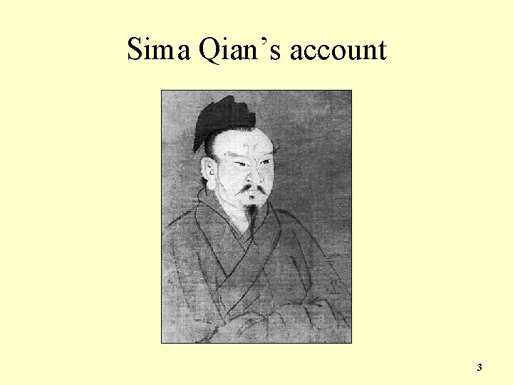 Sima Qian's account 3