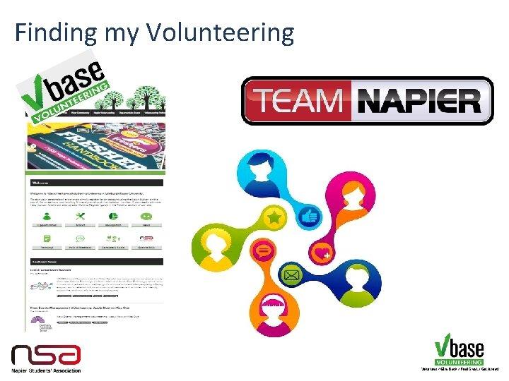 Finding my Volunteering