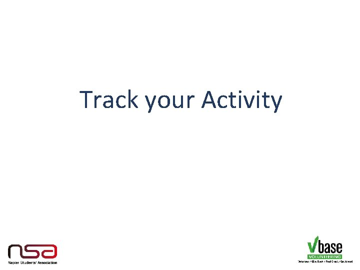 Track your Activity