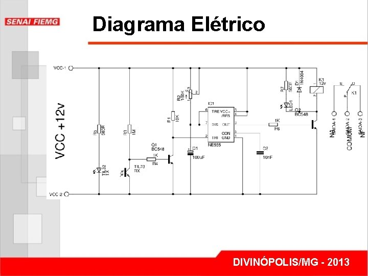 Diagrama Elétrico DIVINÓPOLIS/MG - 2013