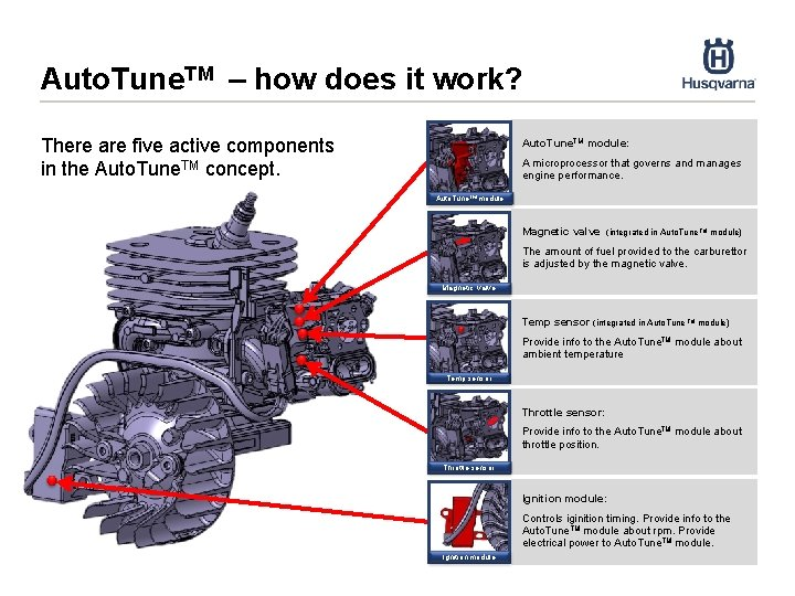 Auto. Tune. TM – how does it work? There are five active components in