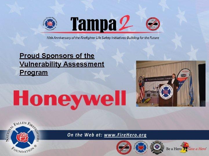 Proud Sponsors of the Vulnerability Assessment Program