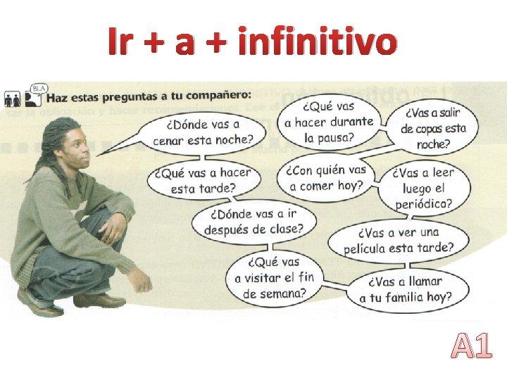 Ir + a + infinitivo e A 1