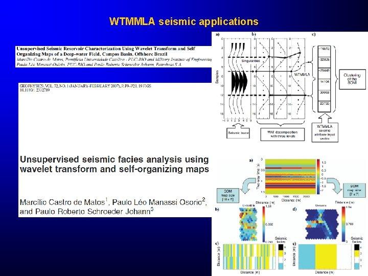 WTMMLA seismic applications