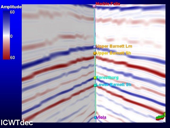 Amplitude 60 Marble Falls 0 Upper Barnett Lm 60 Upper Barnett Sh Forestburg Lower