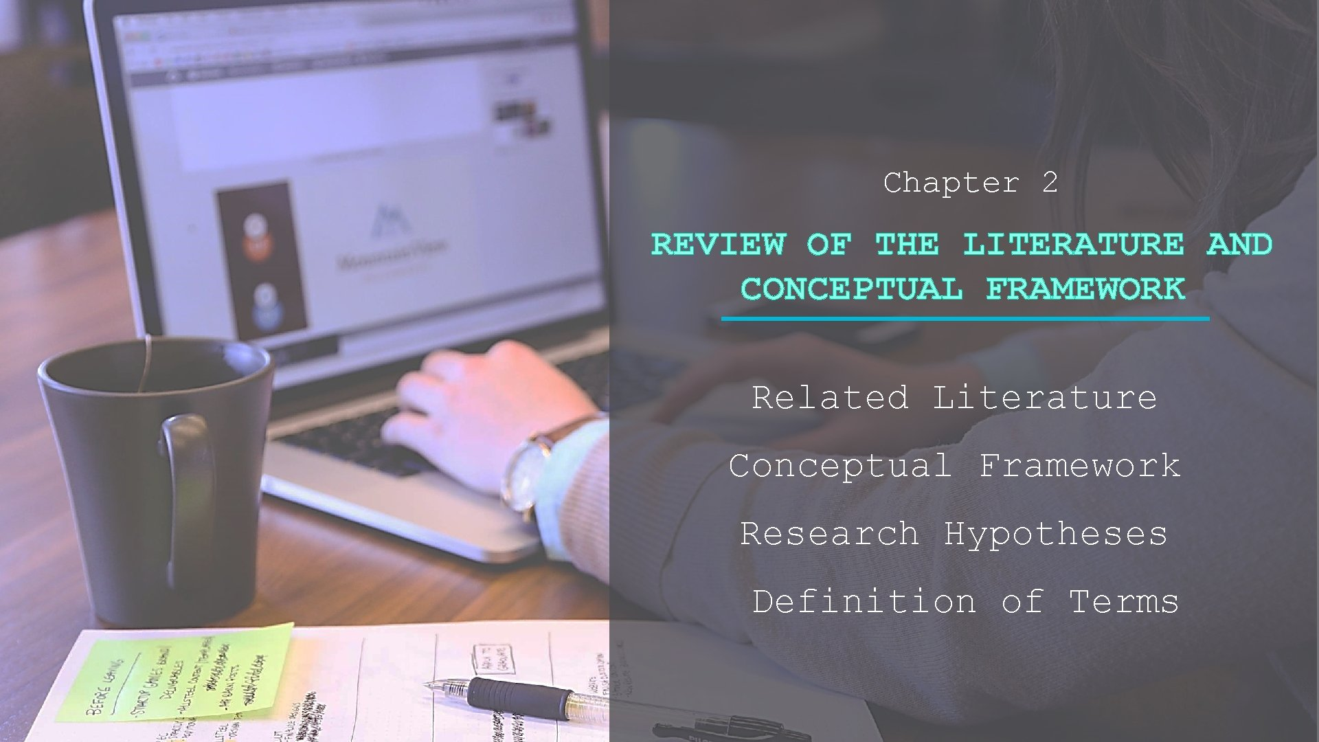 Chapter 2 REVIEW OF THE LITERATURE AND CONCEPTUAL FRAMEWORK Related Literature Conceptual Framework Research