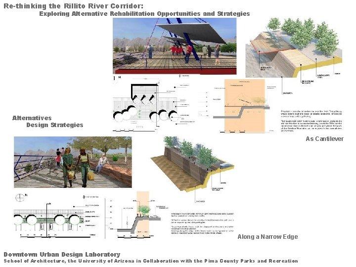 Re-thinking the Rillito River Corridor: Exploring Alternative Rehabilitation Opportunities and Strategies Alternatives Design Strategies