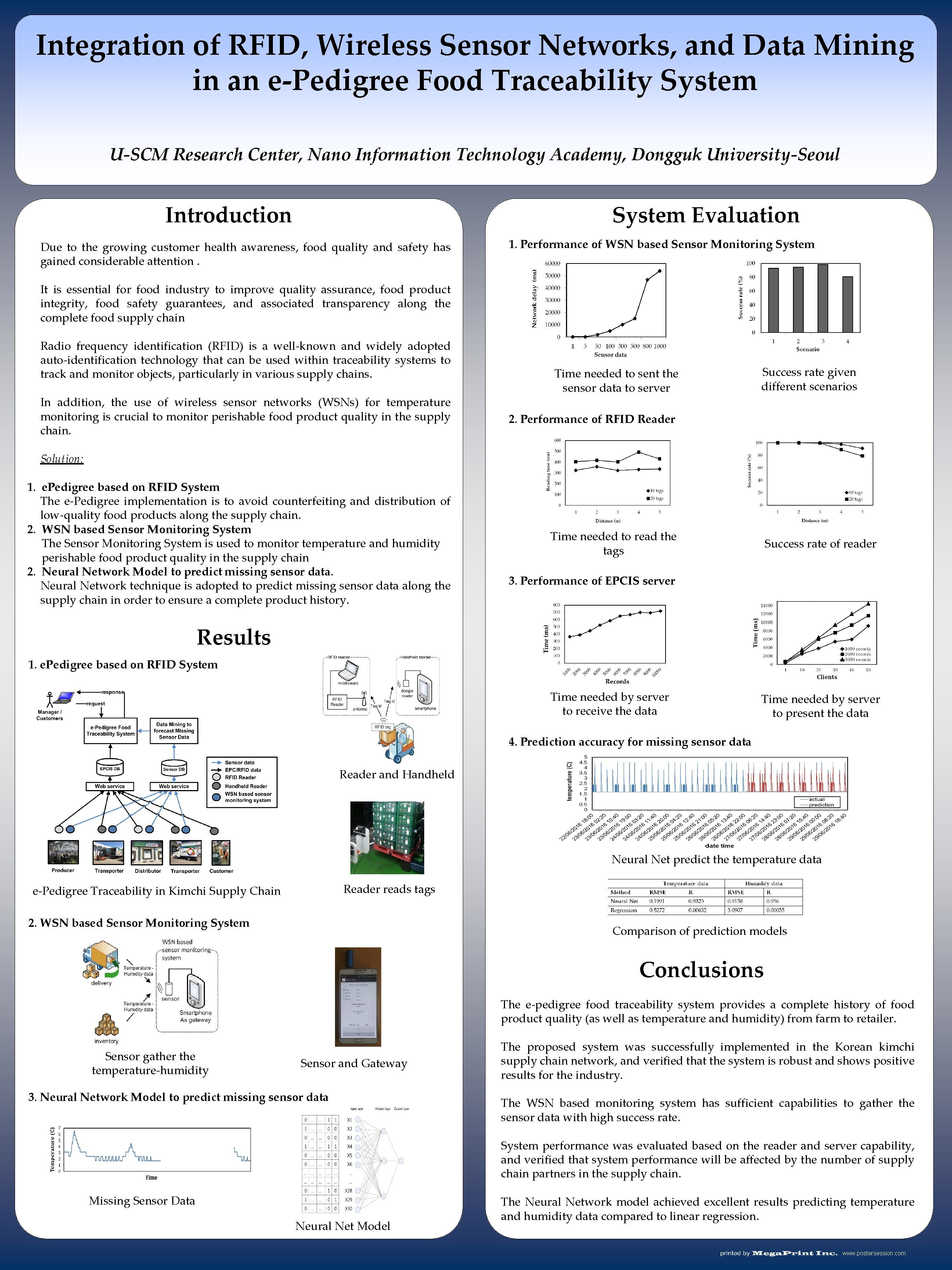 Integration of RFID, Wireless Sensor Networks, and Data Mining in an e-Pedigree Food Traceability