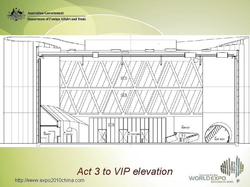 Act 3 to VIP elevation http: //www. expo 2010 china. com