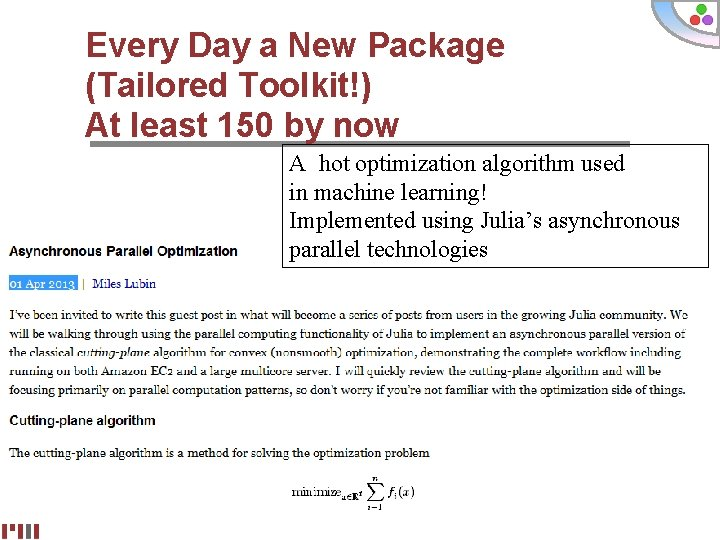 Every Day a New Package (Tailored Toolkit!) At least 150 by now A hot