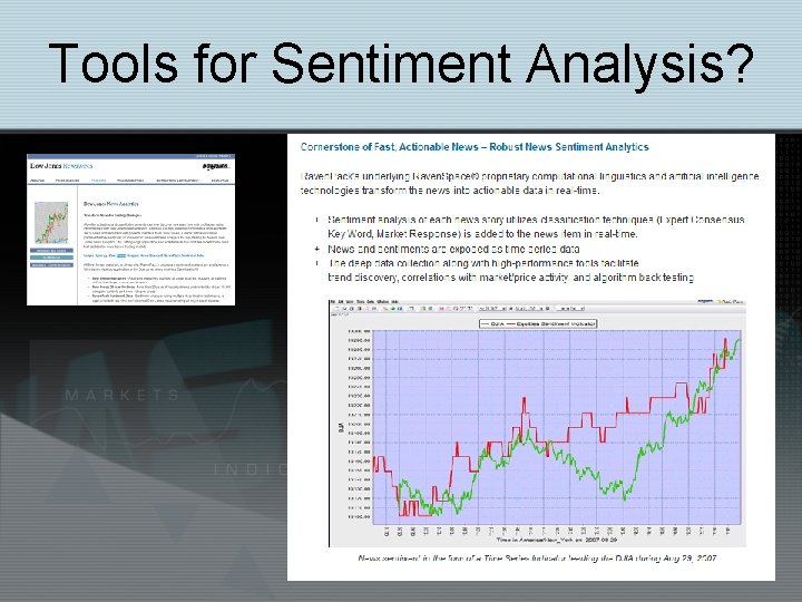 Tools for Sentiment Analysis?