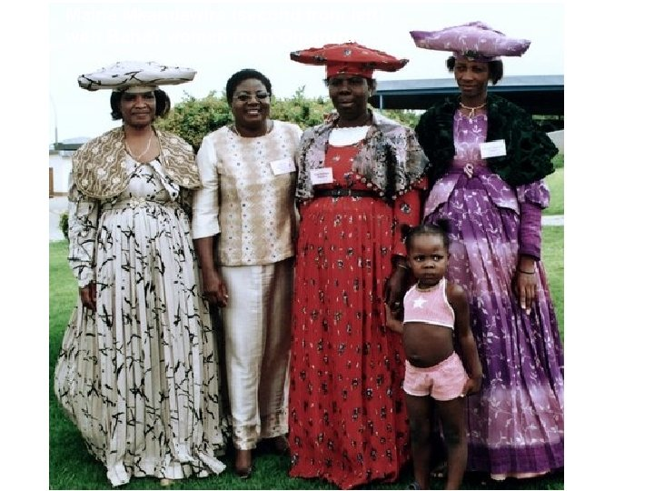 Maina Mkandawire (second from left) with Baha'i women from Omaruru