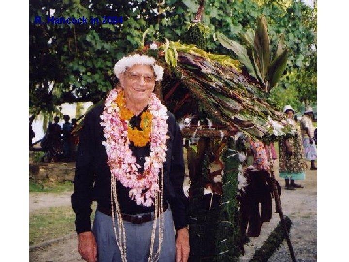 R. Hancock in 2004