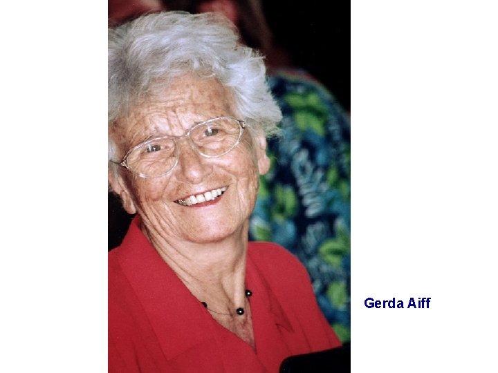 Gerda Aiff