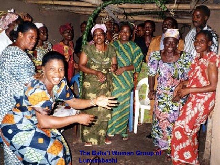 The Baha'ì Women Group of Lumumbashi