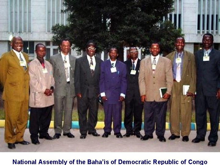 National Assembly of the Baha'ìs of Democratic Republic of Congo