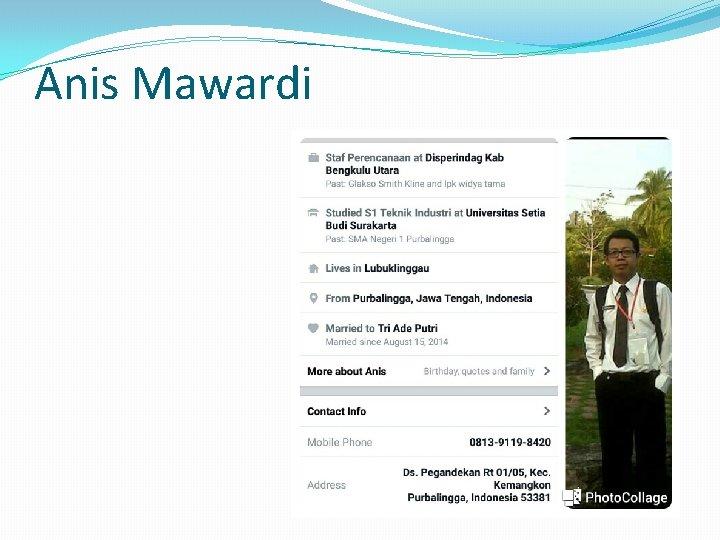Anis Mawardi