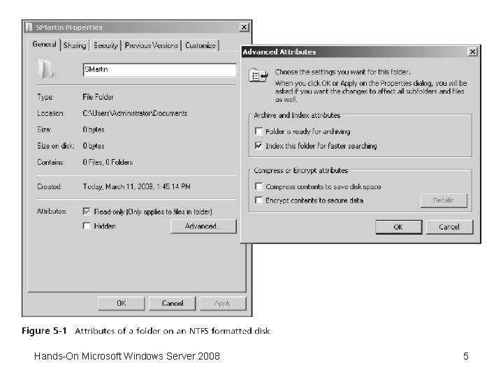 Hands-On Microsoft Windows Server 2008 5
