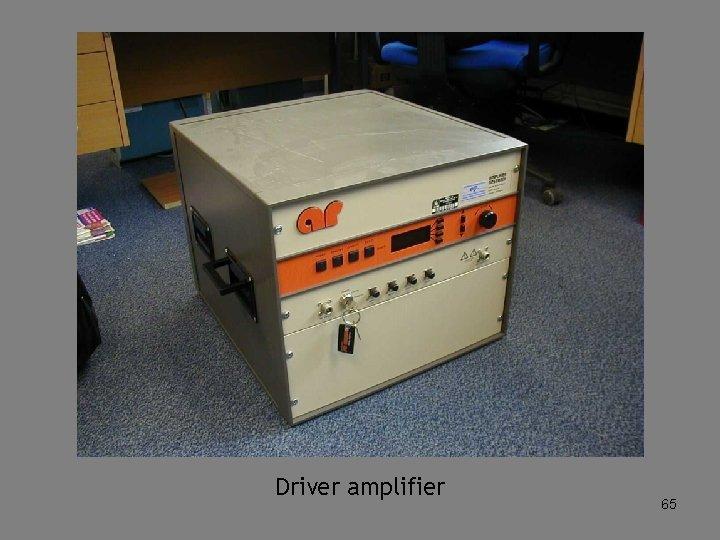 Driver amplifier 65